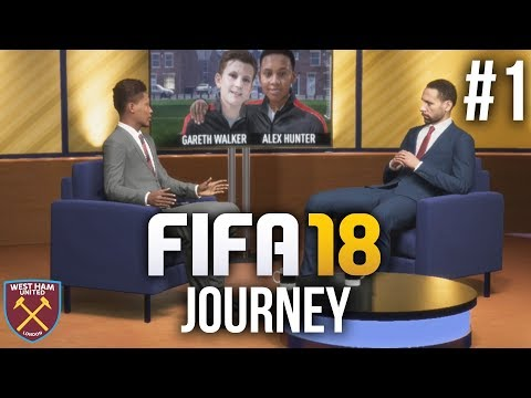 FIFA 18 The Journey Gameplay Walkthrough Part 1 - Journey 2 (Full Game)