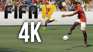 FIFA 17 DEMO 4K PC Gameplay - MY FIRST MATCH