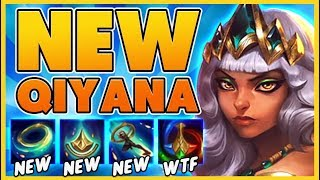 *QIYANA GAMEPLAY* NEW STRONGEST ASSASSIN WITH 5 DASHES (30 KILLS) - BunnyFuFuu