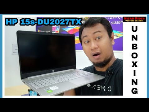 UNBOXING || HP NOTEBOOK HP 15s-DU2027TX || INTEL i5 10gent || 4GB DDR4 ||  512GB SSD.