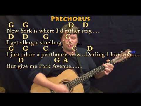 Green Acres TV Theme Strum Guitar Cover Lesson with ChordsLyrics amp TAB