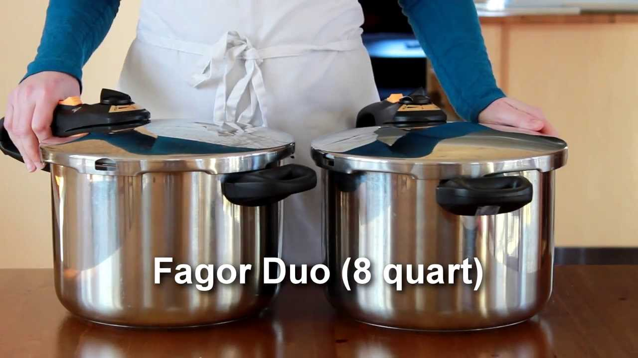 How To Use A Pressure Cooker Fagor Duo Youtube