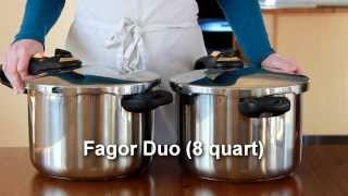 How to Use a Pressure Cooker (Fagor Duo)