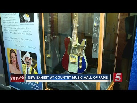Brad Paisley Exhibit Opens At Country Music Hall