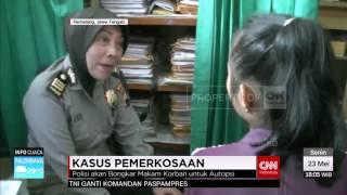 Makam Korban Pemerkosaan Di Pemalang Dibongkar
