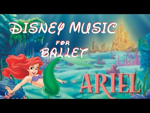 """Disney Music for Ballet Class ~ Under the Sea Ragtime """" Enchainement """""""