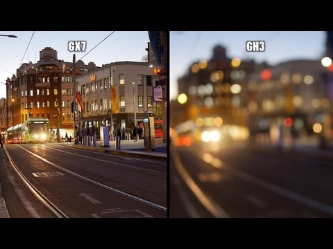 Panasonic GX7 Vs GH3 - Shootout Video