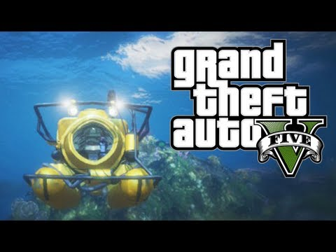 GTA V - How To Unlock Submarine & Scuba Suit + Make ...