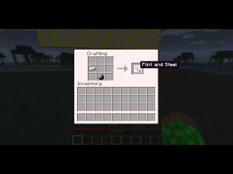 Minecraft Flint and Steel [Crafting] [HD]