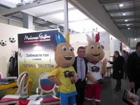 Kiev Expo Furniture Ukraina-Polonia Euro 2012 Football Design