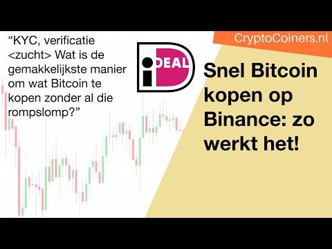Snel Bitcoin Met IDeal Kopen Op Binance: Zo Werkt Het!