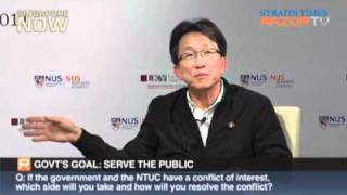 Lim Swee Say on the labour movement in singapore Q&A part 2/4