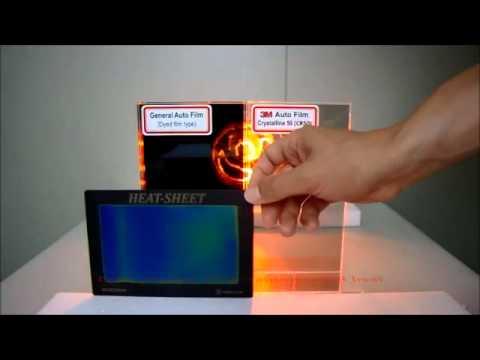 3m Crystalline Window Film Heat Rejection Capabilities Vs
