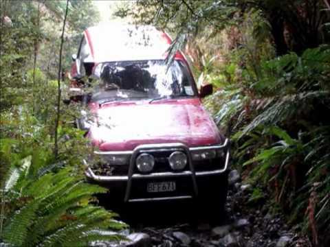 Barn Bay Haast New Zealand 4x4 Youtube