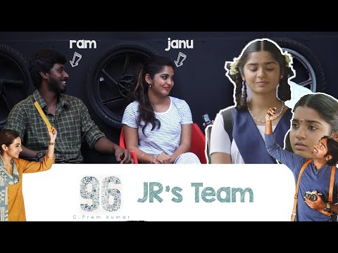 I want to be like trisha  - gouri g kishan | 96 Team Interactions