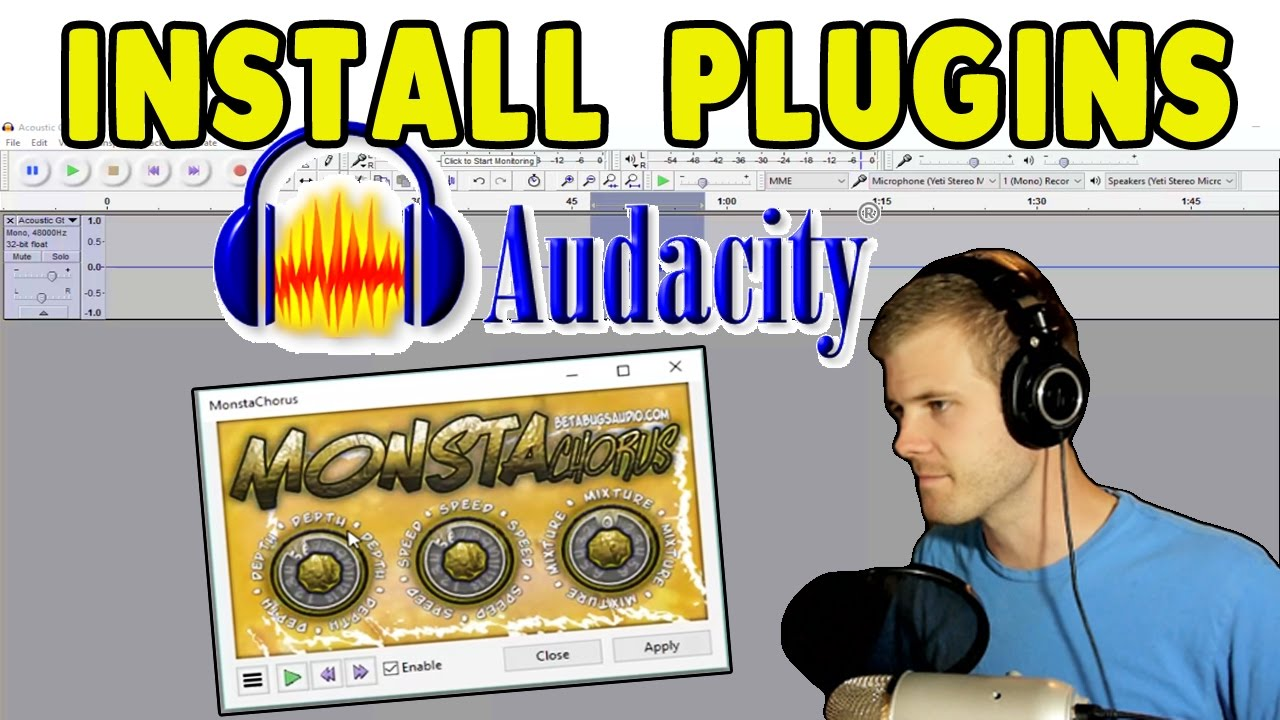 How to Install VST Plugins in Audacity (Mac, PC)