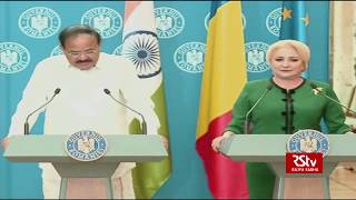 Vice President's joint press statement with Romanian PM Viorica Dancila