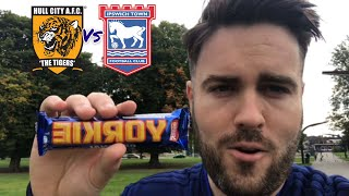 Hull 2 Ipswich 0 - IpswichFanzone EP19 - Match Day Vlog