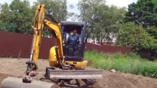 видео Планировка участка, земляные работы