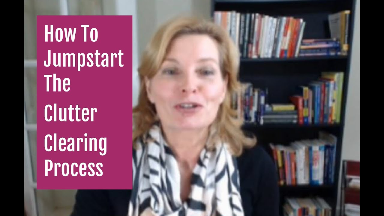 How To Jump Start The Decluttering Process And Clear Clutter Fast Challenge Task 1