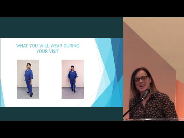 Rebecca Simmons - what to expect at the UK Biobank imaging visit