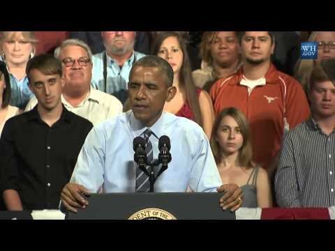 """Obama """"Telling The Truth"""" About Congress In Austin, TX - Full Speech"""