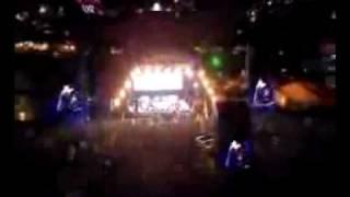 Jay-Z does Wonderwall & 99 Problems Glastonbury UK.