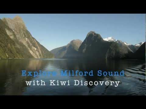 Travel New Zealand. Milford Sound