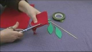 Foam Flower Crafts for Kids : Making Rose Petals for Kids