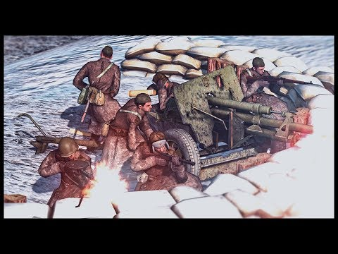 Soviet Battalion Command Entrenchment! The Battle of Moscow thumbnail