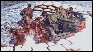 Soviet Battalion Command Entrenchment! The Battle of Moscow
