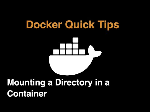 Mounting a Folder in a Docker Container