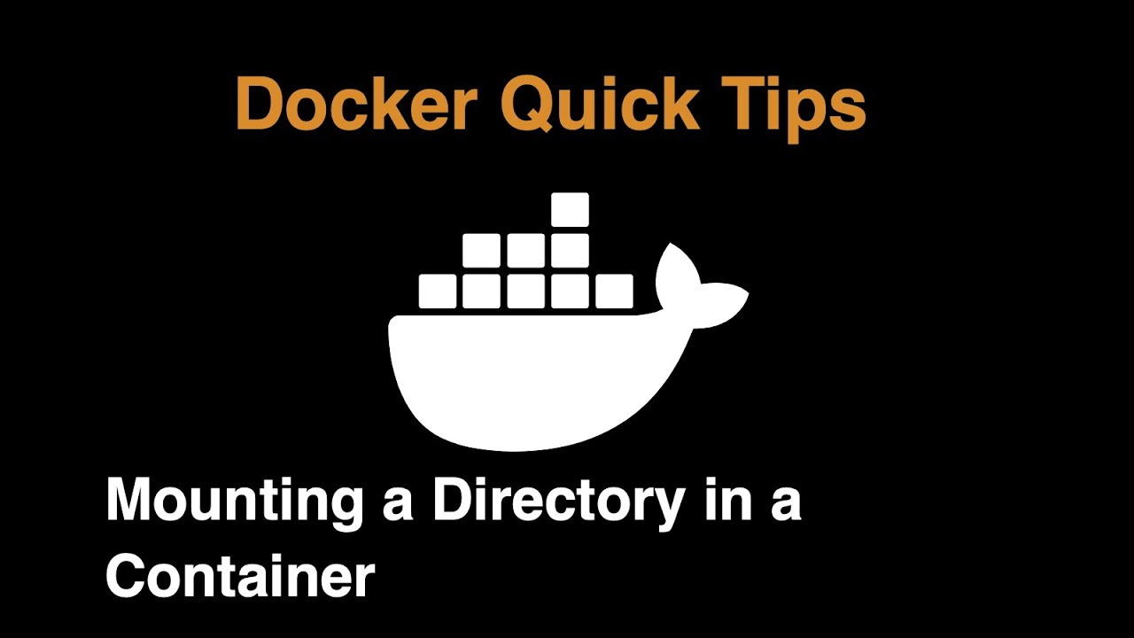 Mounting a Directory in a Docker Container