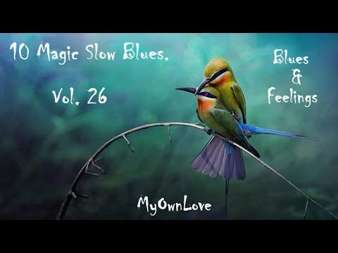 Blues & Feelings ~10 Magic Slow Blues. Vol. 26