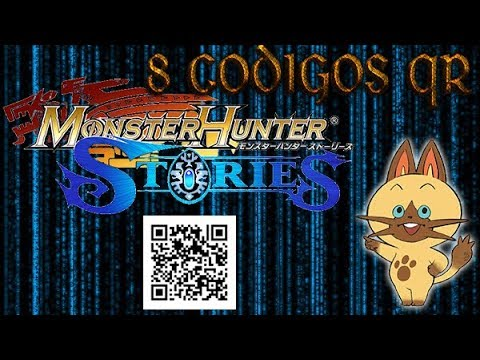 Monster Hunter Stories 8 Codigos Qr 28 New Codes In The