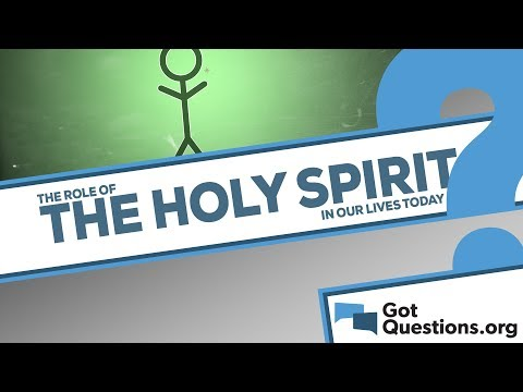 What is the role of the Holy Spirit in our lives today