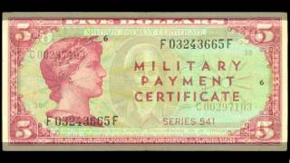 United States Army Military Payment Certificates