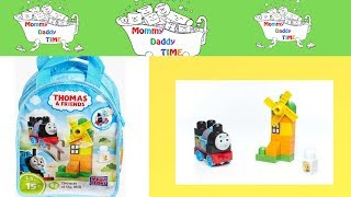 Thomas and friends| at the mill toy| lego mega bloks|unboxing toys