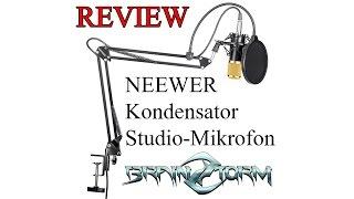 review neewer nw 800 kondensator studio mikrofon set inkl 1 1 vergleich vs rode t 1000