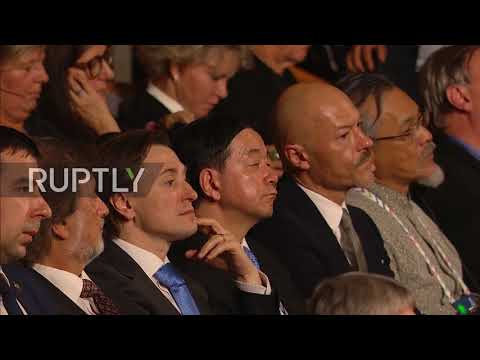 Russia: Putin welcomes International Cultural Forum in St. Petersburg