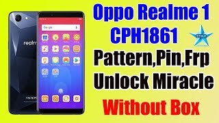 Oppo Realme 1 user pattern bypass