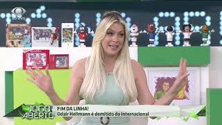 Renata diz que pediu demissão de Odair a presidente do Inter