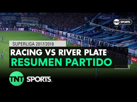 Resumen de Racing vs River Plate (0-2) | Fecha 22 - Superliga Argentina 2017/2018