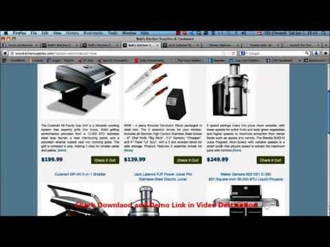 Learn How To Build SEO Friendly Affiliate Amazon And Ebay Niche Sites And Store In 5 Minutes