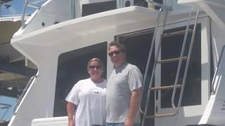 87' Blackfin Boat Restoration