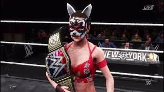WWE2K20  Io Shirai VS Zhao Li Ying  WWE Unitedstates Championship