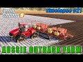 Quickly plant 44 acres of potatoes   FS 19   Aussie Outback Australia Farm   Timelapse #21