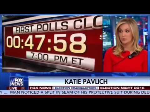 Fox News Election Night 2016 NOVEMBER 8th Trump's VICTORY