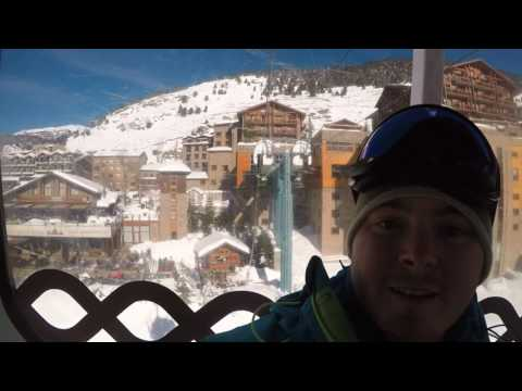 Skiing in Andorra 2017