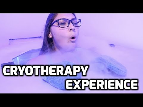 My First Time Trying CRYOTHERAPY!!! (LIVEColder Cryo Experience)